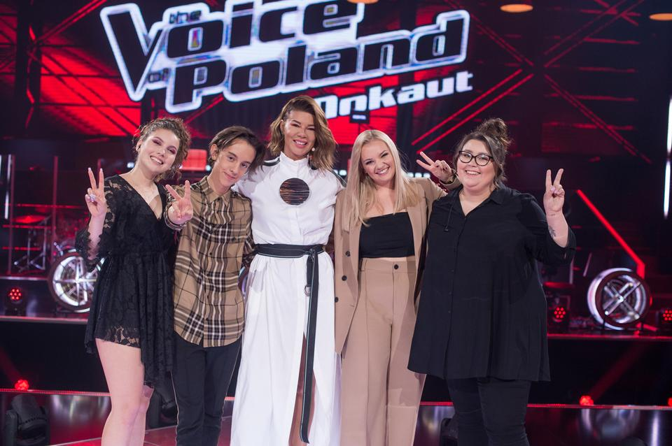 "Drużyna Edyty Górniak w ""The Voice of Poland 11"""