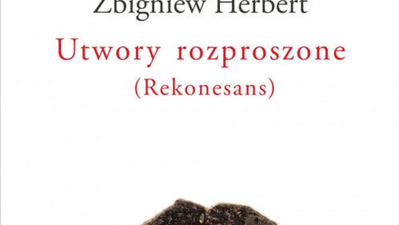 Utwory Rozproszone Zbigniew Herbert Wiadomości