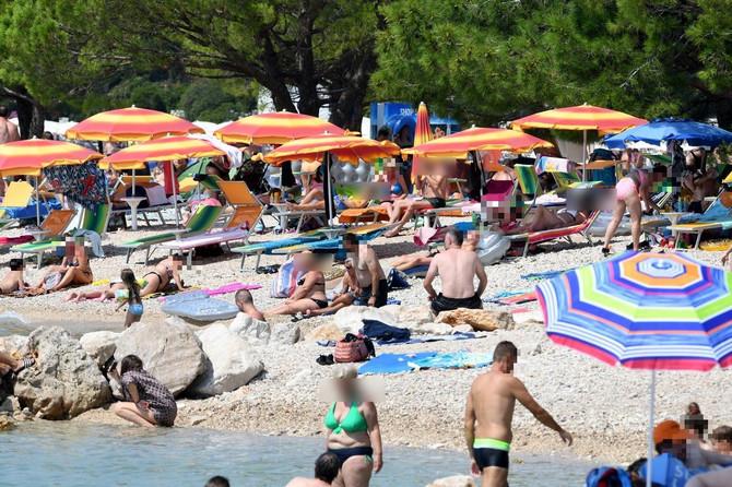 Plaža u Crikvenici ovog meseca