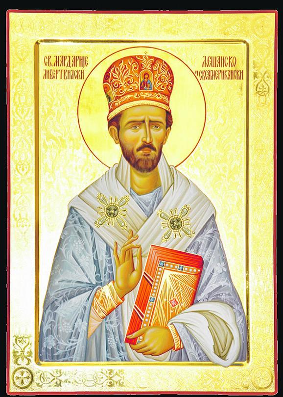 Pomagao sirotinji i bio slavenofilski orijentisan: Sveti Mardarije Libertvilski