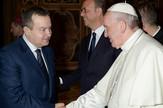 Ivica Dačić i papa Franjo