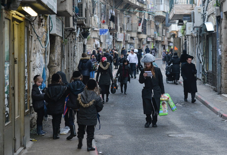 Mea She'arim w Jerozolimie