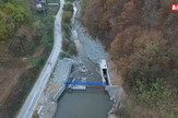 Isusivanje Crnovrske reke, snimak dronom