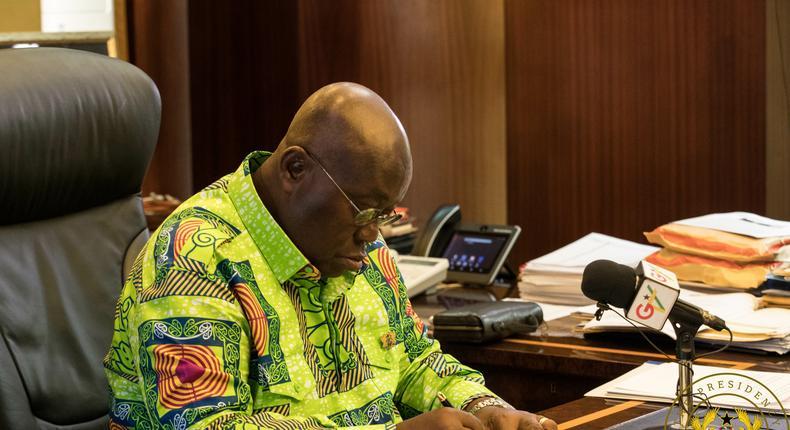 President Akufo Addo assents to RTI Act