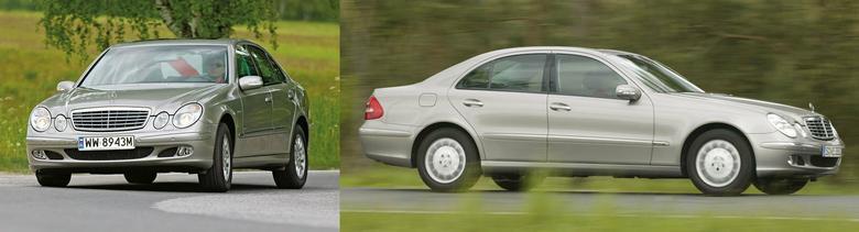 Klasa E w wersji sedan (jest też kombi) mierzy 4,8 m.
