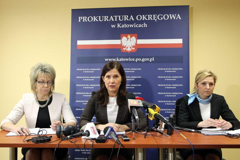 Konferencja w Prokuraturze Okręgowej w Katowicach