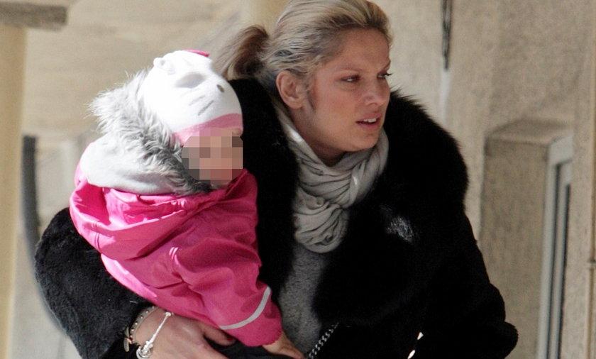 Joanna Liszowska z córką