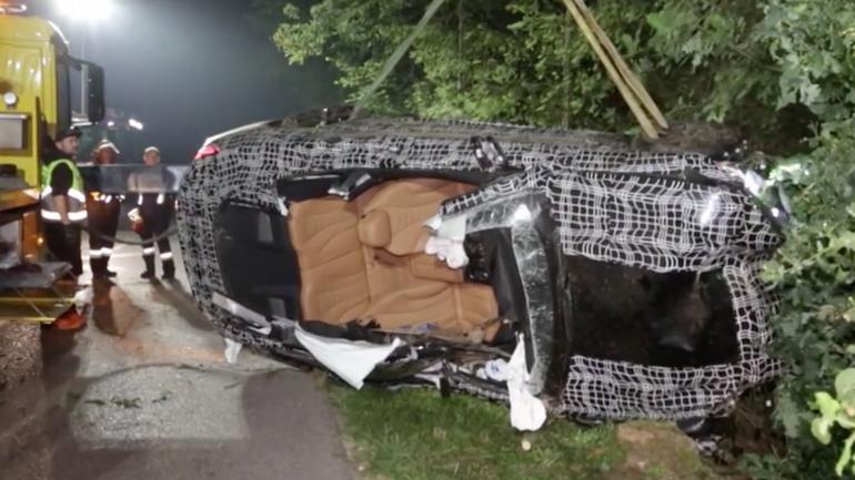 Wypadek prototypowego BMW