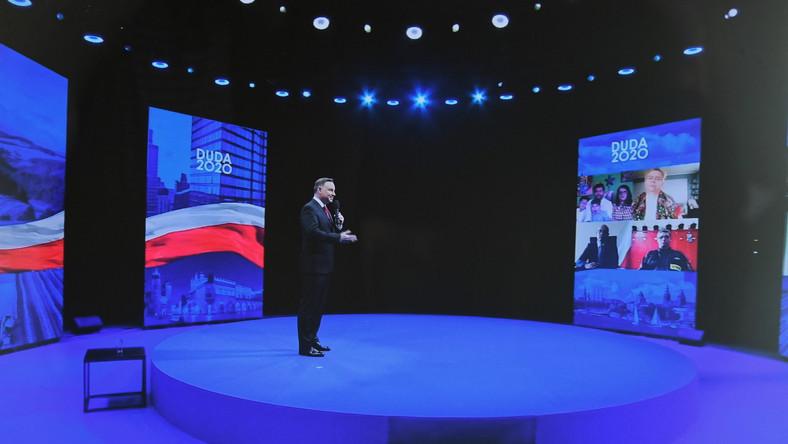 Transmisja konwencji programowej prezydenta Andrzeja Dudy