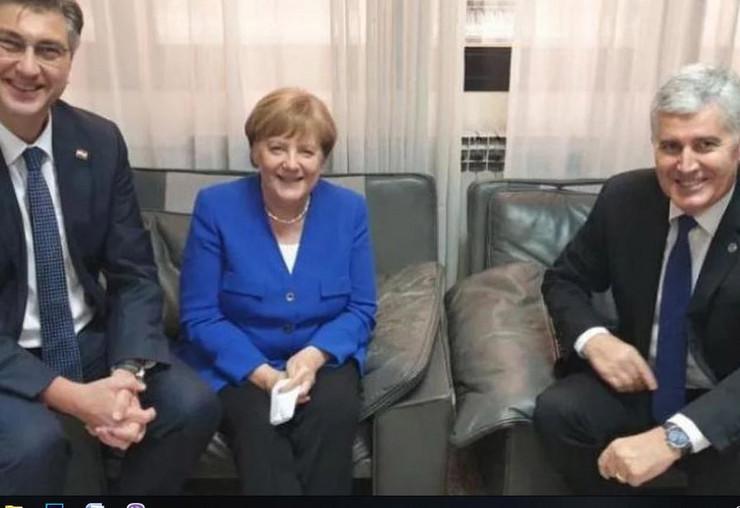 Dragan Covic Angela Merkel