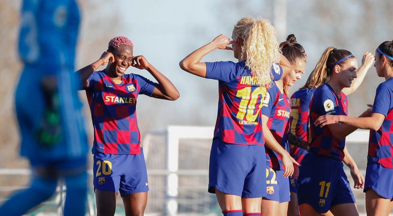 The Week of 4s: Asisat Oshoala scores 4 goals in one game for Barcelona women's team just days after winning her 4th African Women's Player award