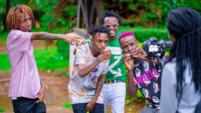 Image result for Bahati and boondocks gang