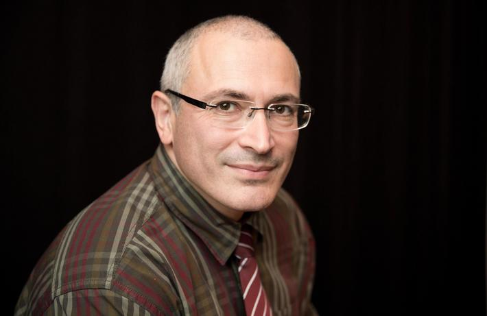 Mikhail Khodorkovsky presents book in Berlin