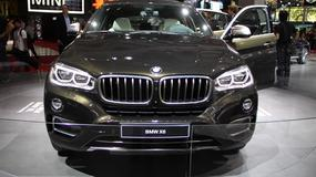 BMW X6 - atrakcyjny SUV (Paryż 2014)