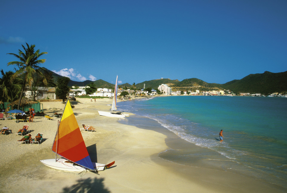 Great Bay Beach, Sint Maarten