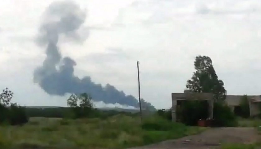 Rzeczy osobiste ofiar katastrofy na Ukrainie