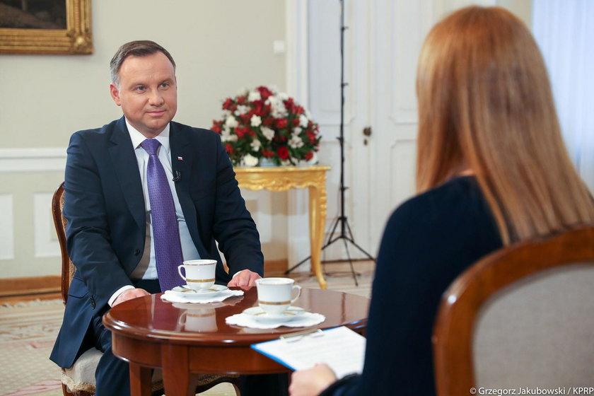 """Andrzej Duda udzielił wywiadu magazynowi """"Tydzień"""""""