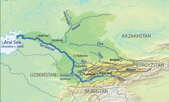 Tok reke Sir Darja
