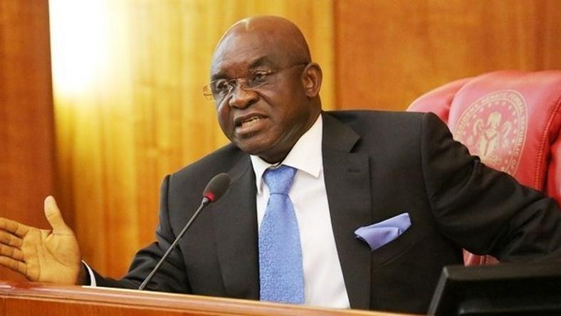 Image result for 'Avoid declaring elections inconclusive' - Ex-Senate President, David Mark tells INEC