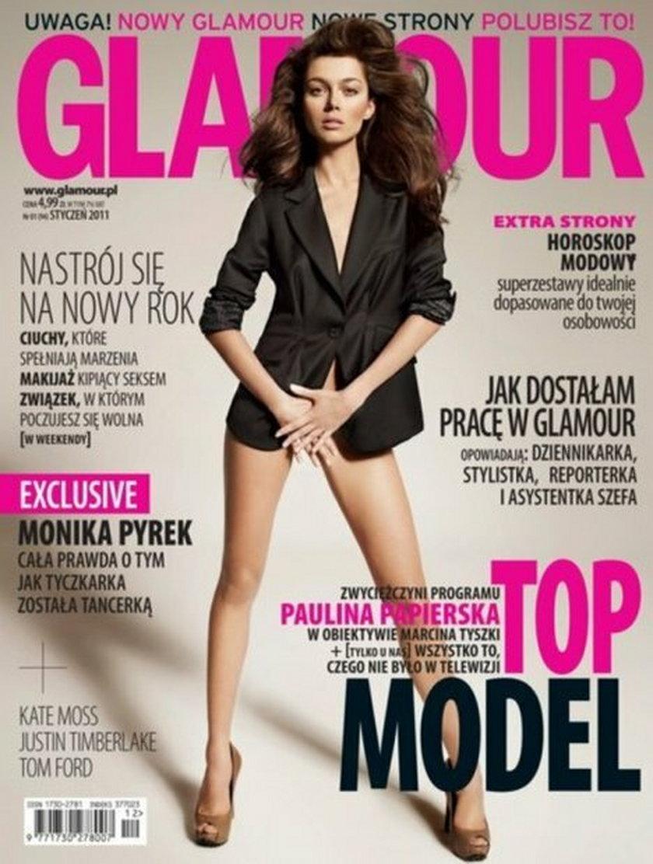 Paulina Papierska w Glamour