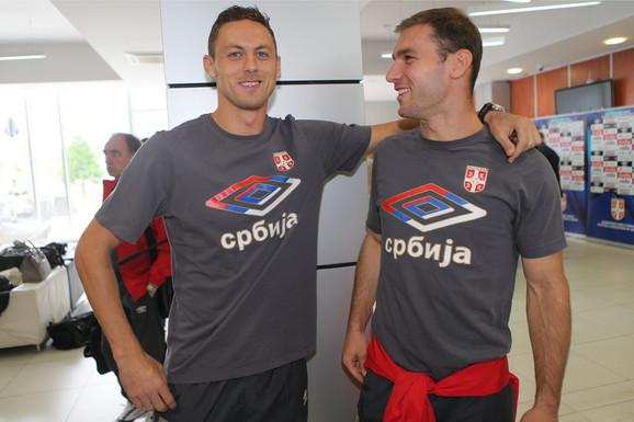 Nemanja Matić i Branislav Ivanović