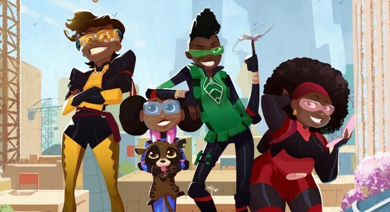 Mama K's Team 4 is Netflix's first original animated series from Africa (variety)