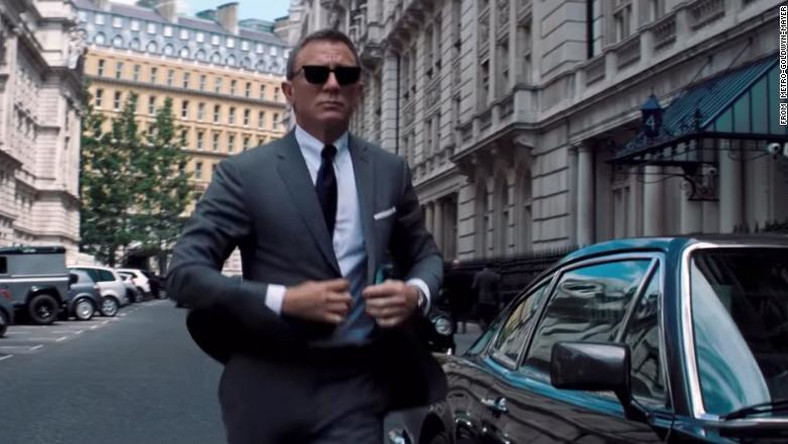 "Daniel Craig jako agent 007 w ""No Time To Die"""