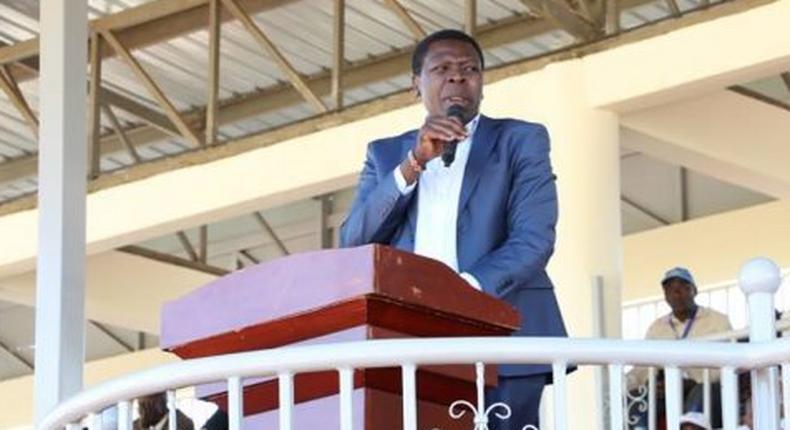Devolution CS Eugene Wamalwa
