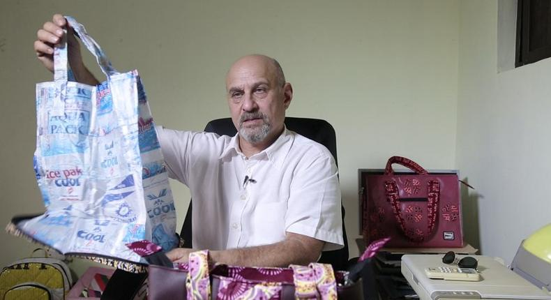 Stuart Gold is making money from turning Ghana's trash to tourists' treasure