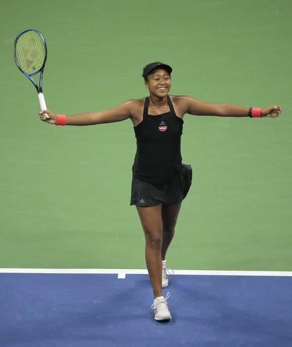 Naomi Osaka slavi ulazak u finale