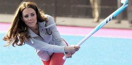 Księżna Kate w sportowych ciuszkach!