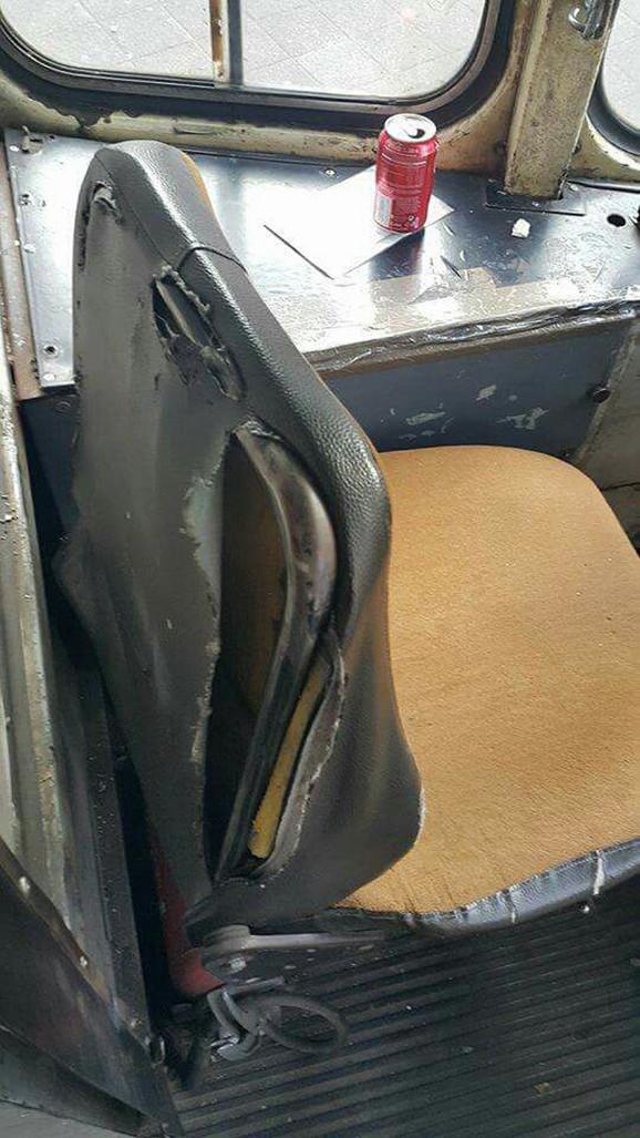 U Savezu ozbiljnih sindikalaca tvrde da je 90 odsto sedišta za vozače oštećeno
