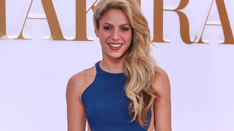 "Shakira na promocji swoich  perfum ""Dance"""