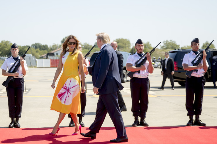 Melanija Tramp G7