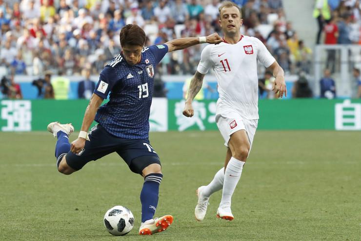 Fudbalska reprezentacija Japana, Fudbalska reprezentacija Poljske