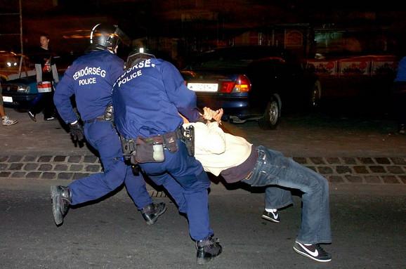 Hapšenje juče nešto posle ponoći