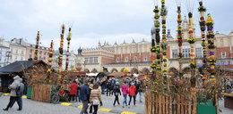Na krakowskim rynku ruszyły Targi Wielkanocne