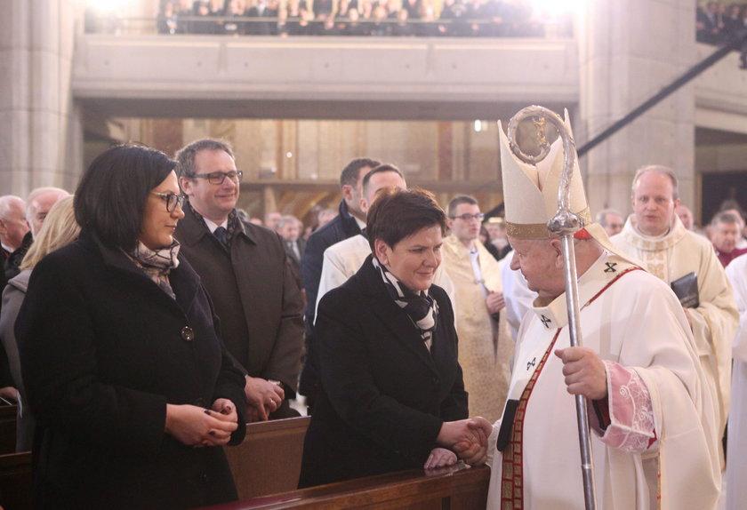 Beata Szydło i Małgorzata Sadurska