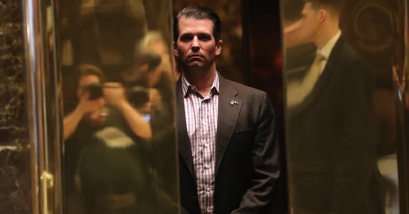 Donald Trump Junior jest najstarszym synem prezydenta USA