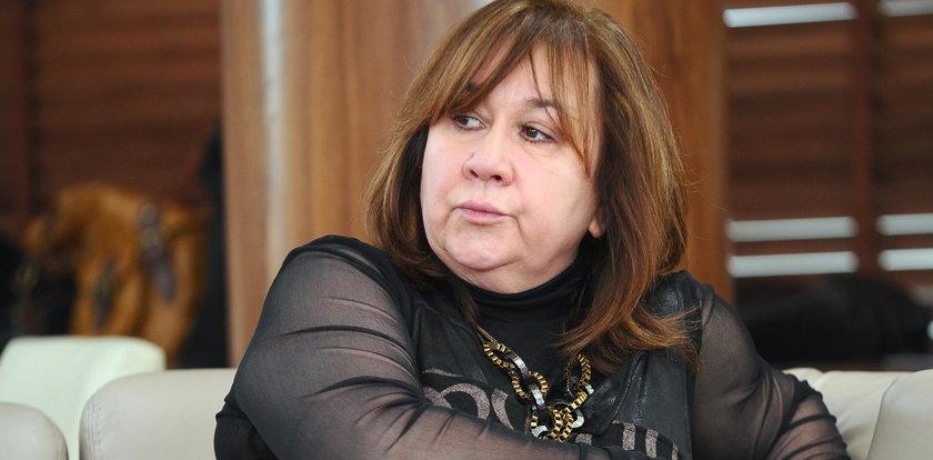 """Żona Olbrychskiego atakuje Rosati: """"Bardzo chcesz być kimśpodłym, prymitywnym"""""""