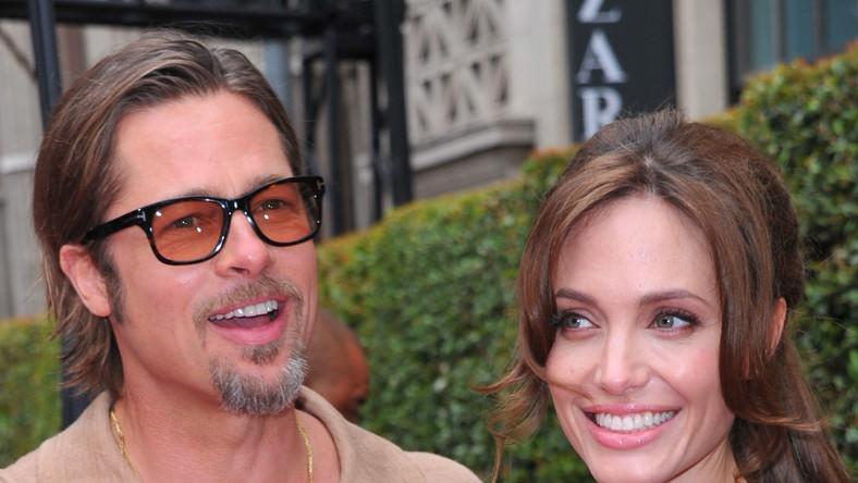 Angelina z Bradem Pittem