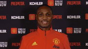 Odion Ighalo has been unveiled by Manchester United (Twitter/Manchester United)