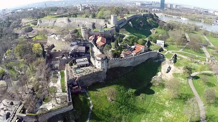 Slike Beograda snimljene dronom iz vazduha