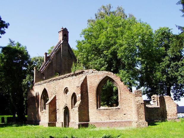 Ruiny Kaplicy św. Gertrudy w Chojnie