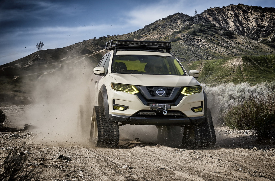 Nissan Rogue Trail Warrior Project – wjedzie wszędzie