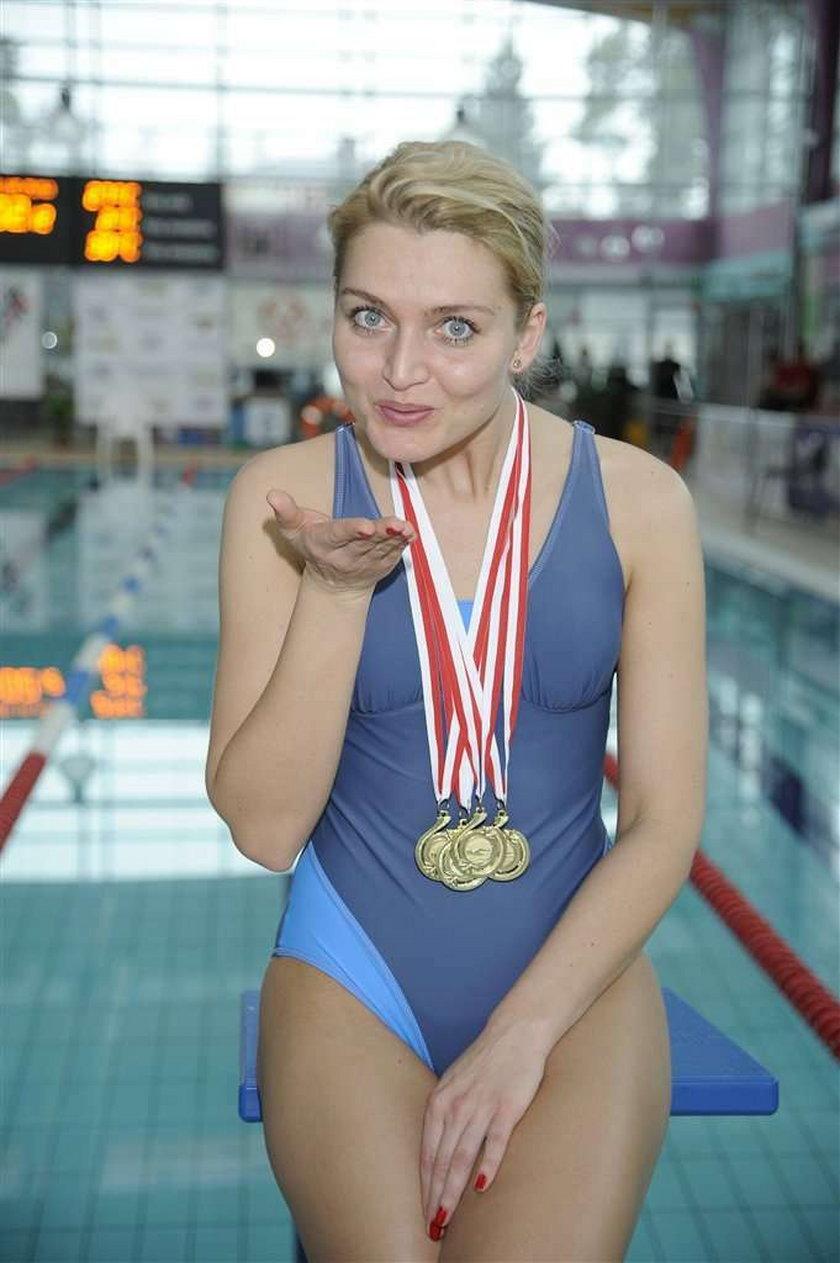 Gwiazda serialu na basenie