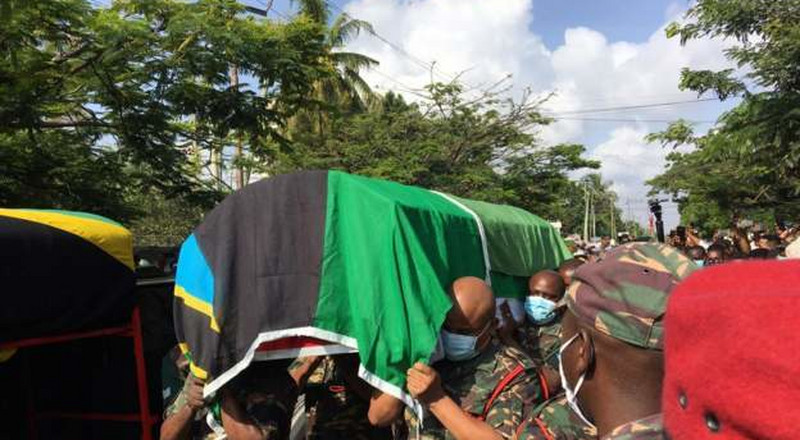 Funeral ceremony held for Zanzibar's first Vice-President