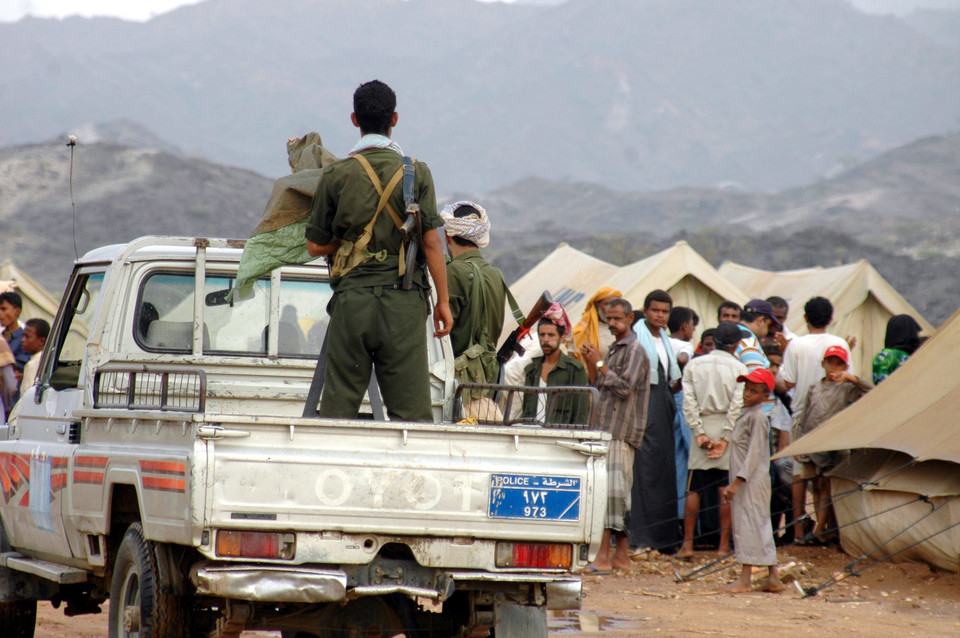 YEMEN REBELLION DISPLACEMENT