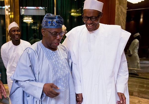 Even though Obasanjo backed Buhari to become president in 2015, the two have since had a falling out