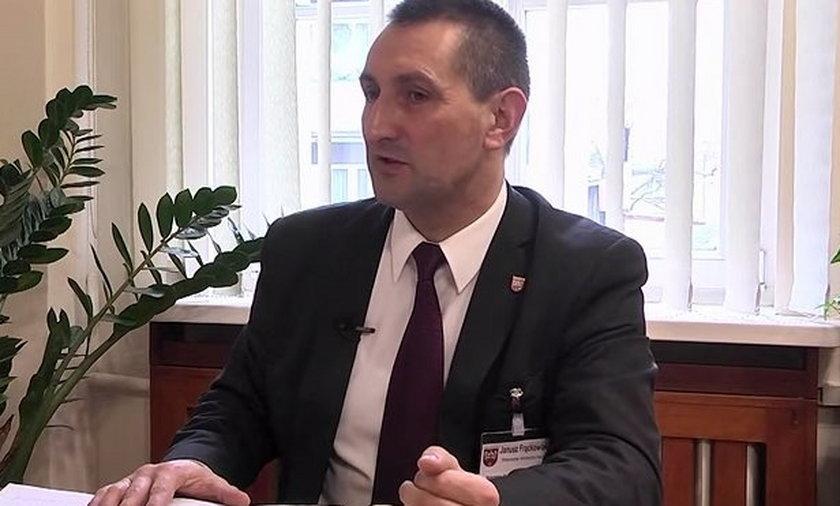 Janusza Frąckowiak starosta Wolsztyn.